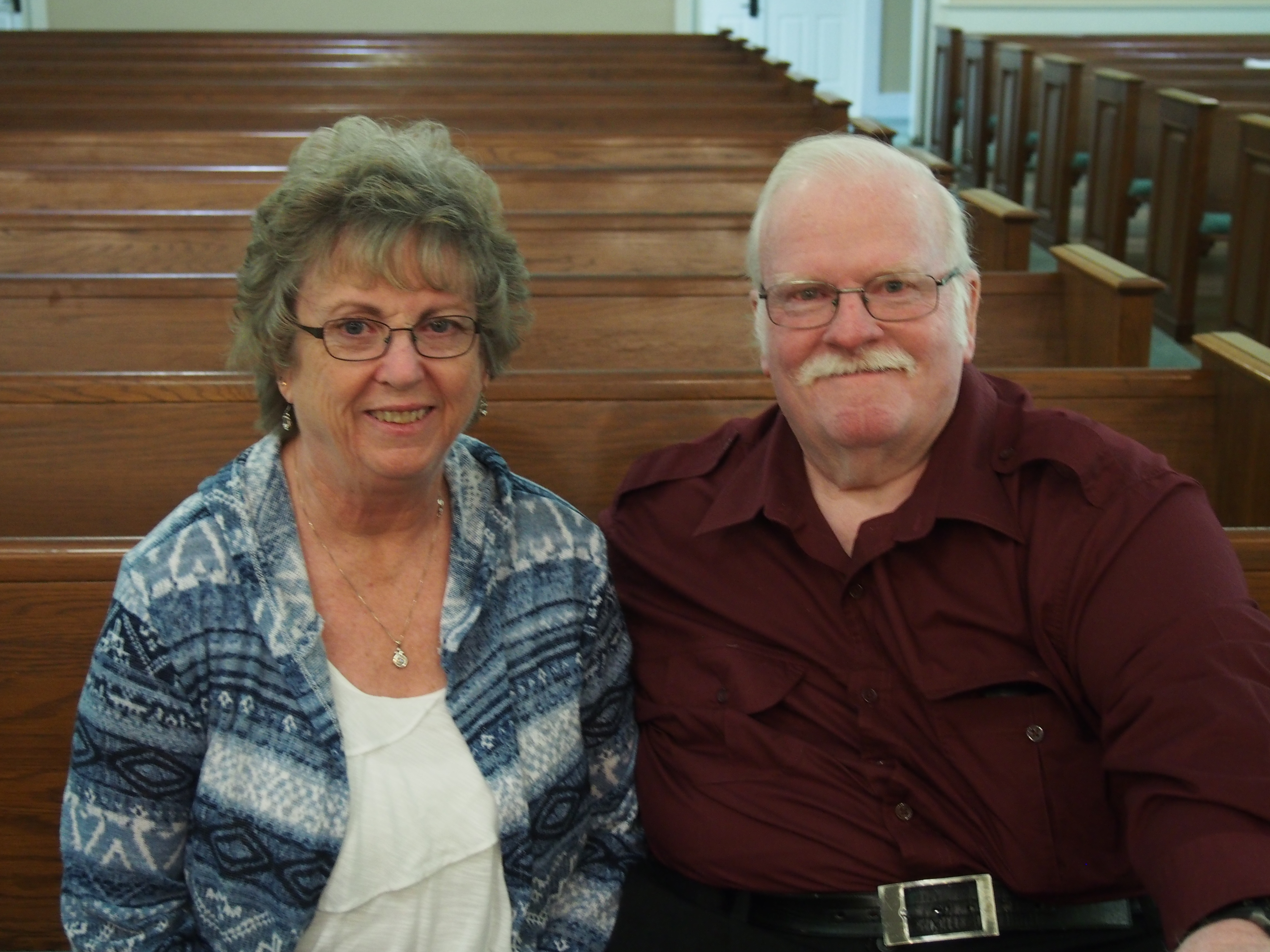 We are pleased to welcome new members Gail and Ray Jones