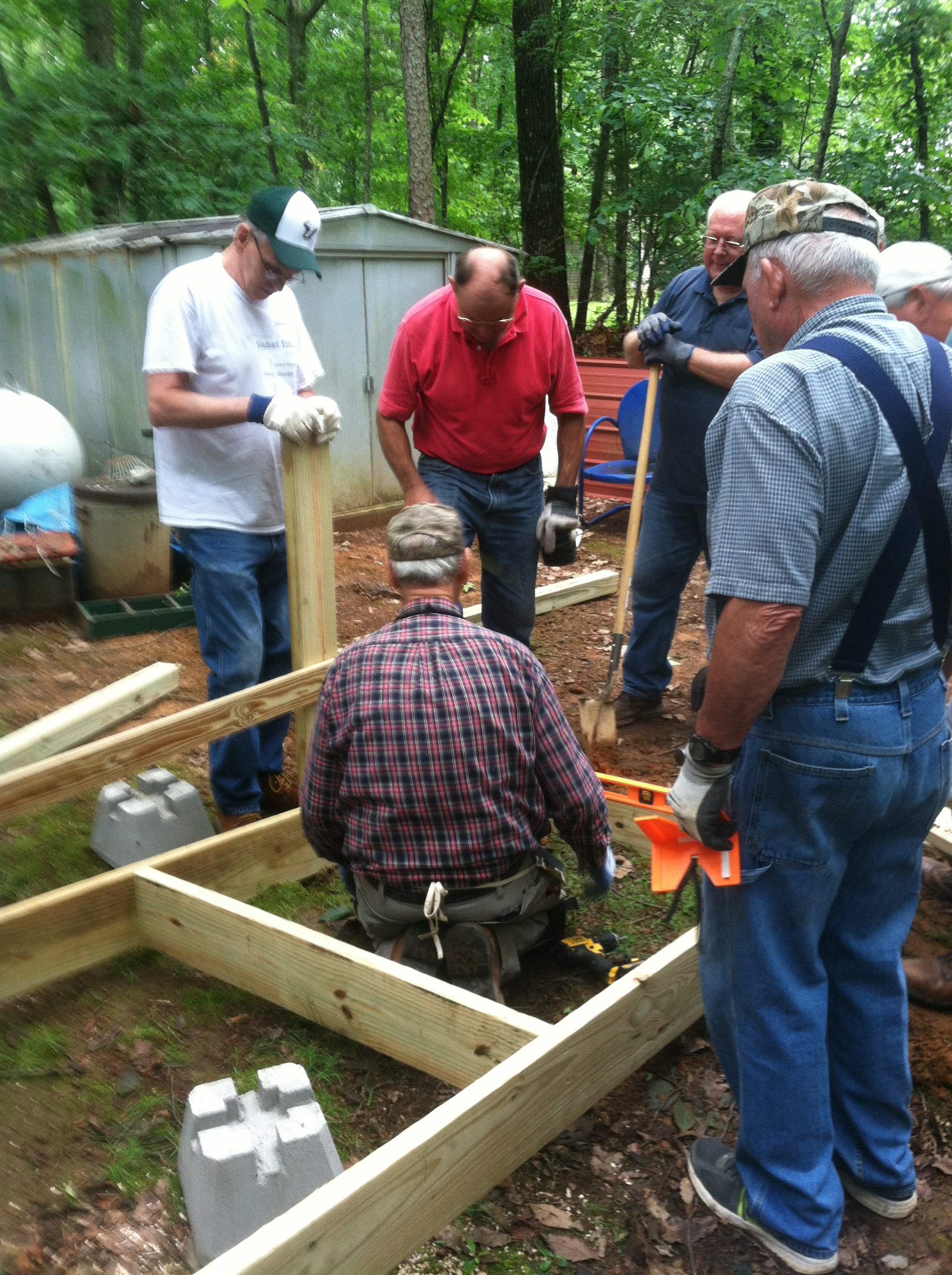 Building ramps in the community